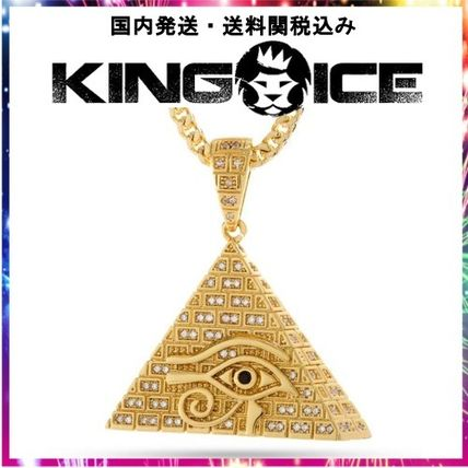 King Ice ネックレス・チョーカー 日本未入荷☆KING ICE☆14K Gold CZ All Seeing Eye Necklace