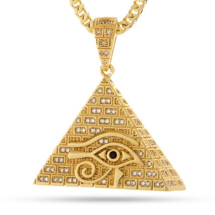 King Ice ネックレス・チョーカー 日本未入荷☆KING ICE☆14K Gold CZ All Seeing Eye Necklace(2)