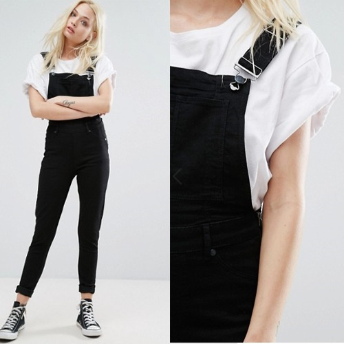 国内発送ASOS/Cheap Monday Spray Dungaree