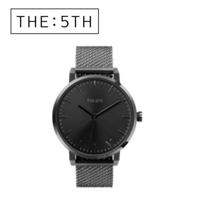 The Fifth  Watches  腕時計 Bilbao オニキス ユニセックス