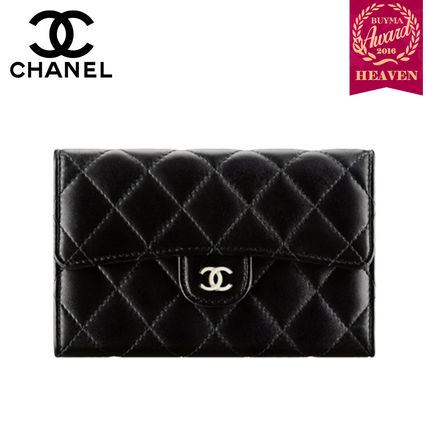buyma topセラー賞受賞 17秋冬 chanel classic small flap wallet