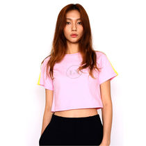 LIKE A VIRGIN(ライクアバージン) Tシャツ・カットソー ◇LIKE A VIRGIN◇ LV STUD CROP TOP - Pink