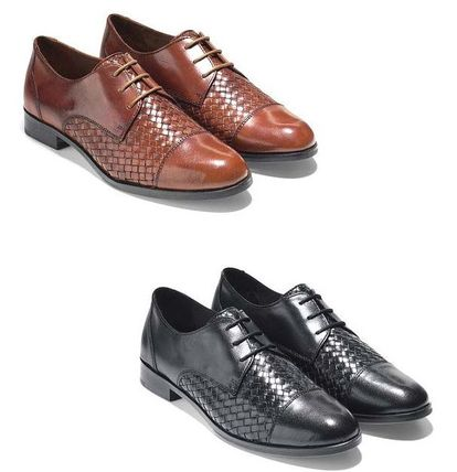 <SALE> COLE HAAN Jagger Weave Oxford