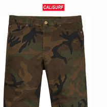 SIZE 32 LOUIS VUITTON X SUPREME POCKET JEAN・ CAMO