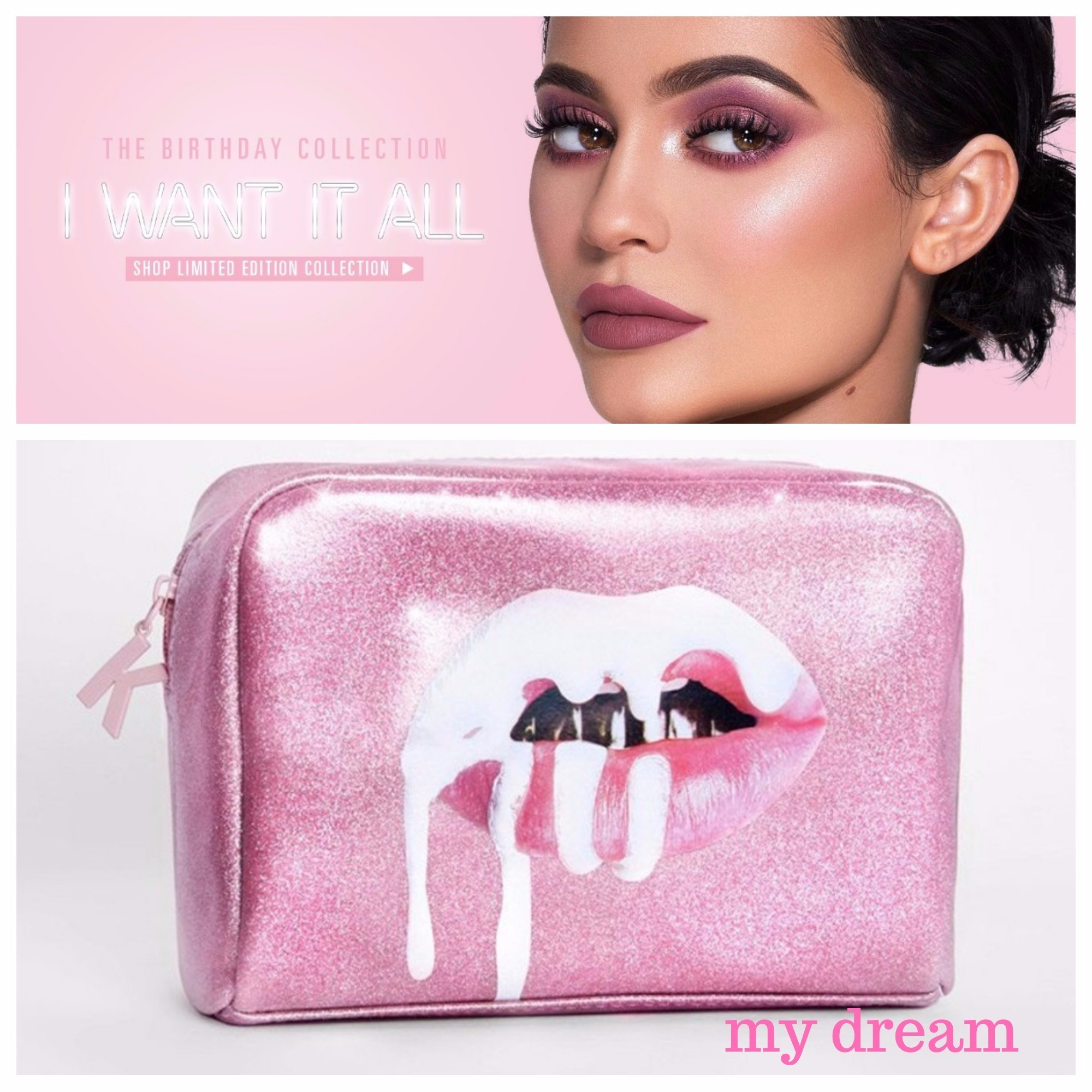 限定★The Birthday Collection★MAKEUP BAG