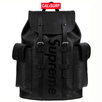 LOUIS VUITTON X SUPREME BACKPACK/BLK