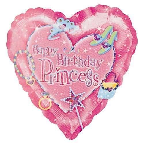 45cm Anagram Happy BirthdayPrincess 誕生日バルーン