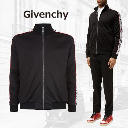 【17FW】GIVENCHY★ジバンシィ Logo Stripe Sweatshirt