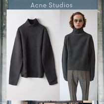【17AW NEW】 Acne Studios_men / Nalle/ボクシーなリブセーター
