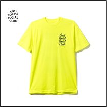 新作 限定 ANTI SOCIAL SOCIAL CLUB Options Neon Yellow Tee