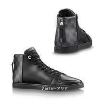【関税送料込】 Louis Vuitton Line-Up Sneaker Boot black♪