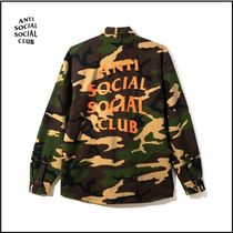 新作 限定 ANTI SOCIAL SOCIAL CLUB The cerulean Flannel