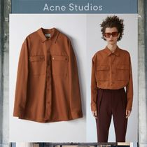 【17AW NEW】Acne Studios_men / Houston H Twill/カーゴシャツ