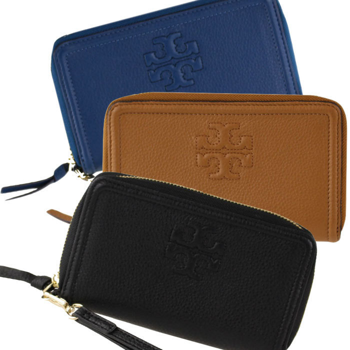 返品可能 TORY BURCH thea phone wristlet wallet 【国内即発】