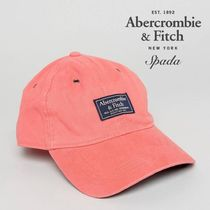 SALE【A&F】ロゴパッチ キャップ 帽子 ピンク / 送料無料