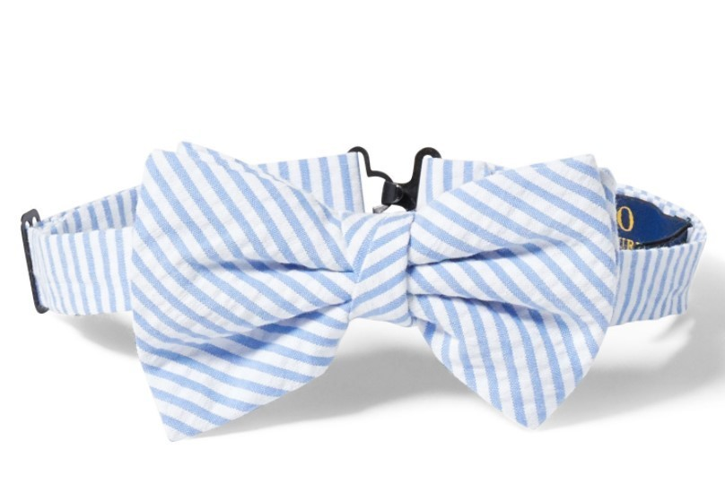 新作セール!COTTON SEERSUCKER BOW TIE boys イタリア製