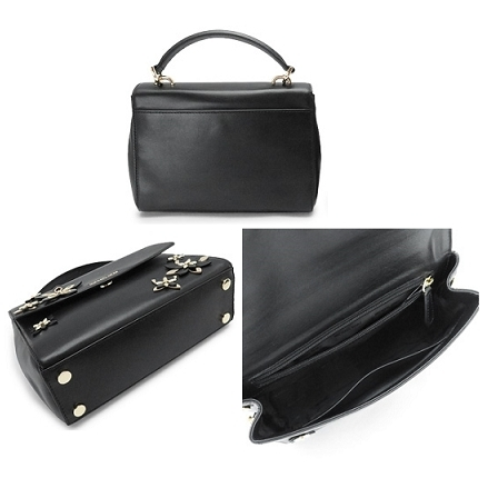 早い者勝ち☆Michael Kors☆ FLOWERS AVA Satchel(2way) BLACK♪