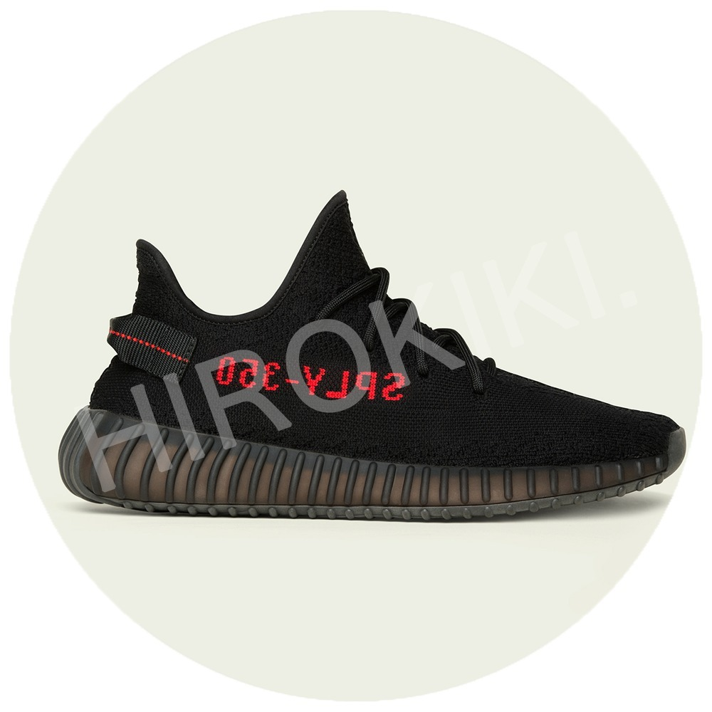 28〜28.5cm★Adidas YEEZY BOOST 350 V2 CP9652 Core Black/Red