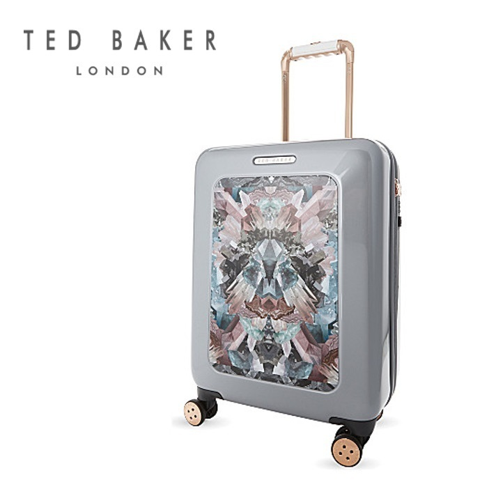 【TED BAKER☆Mirrored minerals スーツケース 小サイズ】関税込