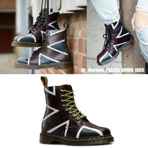 Dr Martens★PASCAL BRIT 8EYE BOOT★ユニオンジャック