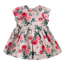 【新作】Cath Kids ジャガードドレス Small Antique Rose  0-18m