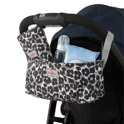 Cath Kidston ベビーカー 【Cath Kidston】 べビーカー用 収納バッグ Leopard Flower