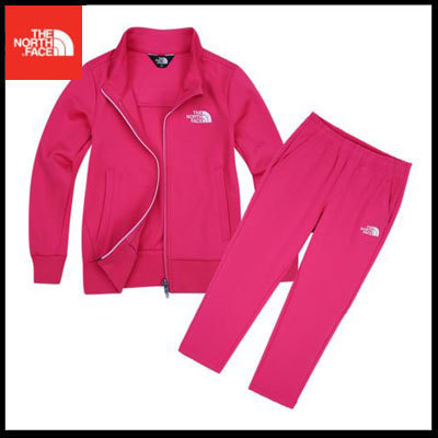 (ザノースフェイス) K'S TORR TRAINING SET PINK NJ5JI55U