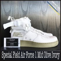 ★【NIKE】追跡発送 Special Field Air Force 1 Mid Olive Ivory
