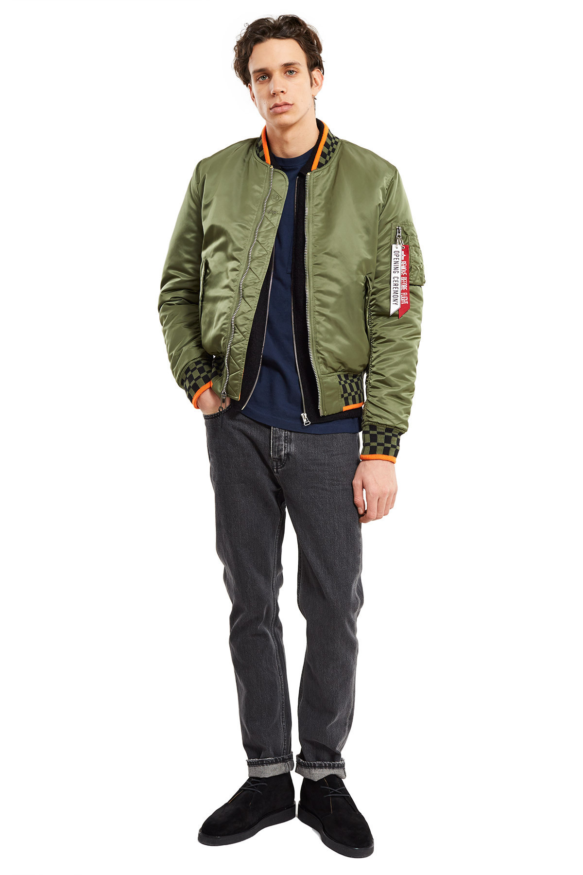 大特価★限定 ALPHA INDUSTRIES x Opening Ceremony MA-1 Jacket