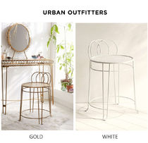 Urban Outfitters(アーバンアウトフィッターズ) 椅子・チェア Urban Outfittersメイクアップドレッサー用スツール椅子