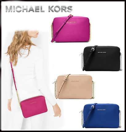 Michael Kors マザーズバッグ MICHAEL KORS★ JET SET LARGE CROSSBODY  国内発送!関税込み