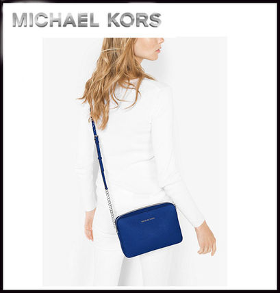 Michael Kors マザーズバッグ MICHAEL KORS★ JET SET LARGE CROSSBODY  国内発送!関税込み(5)