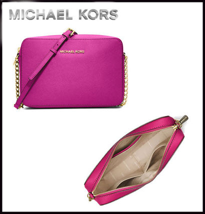 Michael Kors マザーズバッグ MICHAEL KORS★ JET SET LARGE CROSSBODY  国内発送!関税込み(6)