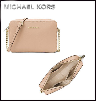 Michael Kors マザーズバッグ MICHAEL KORS★ JET SET LARGE CROSSBODY  国内発送!関税込み(8)