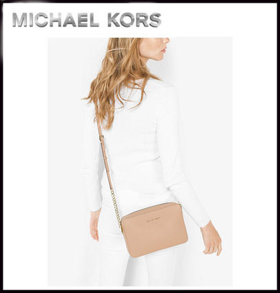 Michael Kors マザーズバッグ MICHAEL KORS★ JET SET LARGE CROSSBODY  国内発送!関税込み(9)