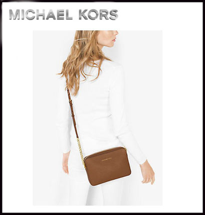 Michael Kors マザーズバッグ MICHAEL KORS★ JET SET LARGE CROSSBODY  国内発送!関税込み(7)