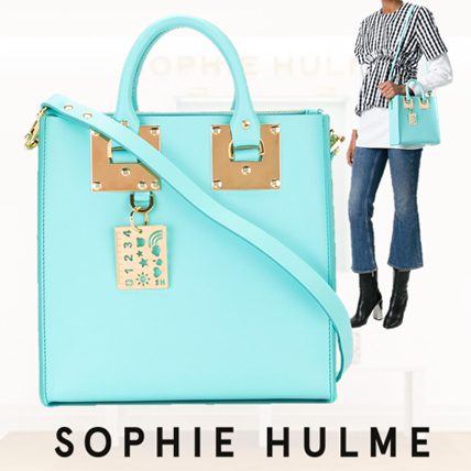 SOPHIE HULME Square Albion トートバッグ BG151LE ◇