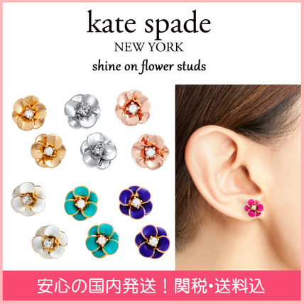 kate spade new york イヤリング・ピアス 【国内発送】 shine on flower studs セール