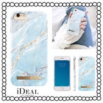 iDEAL OF SWEDEN(アイディール) スマホケース・テックアクセサリー 【iDEAL OF SWEDEN】☆iPhoneケース ISLAND PARADISE MARBLE☆