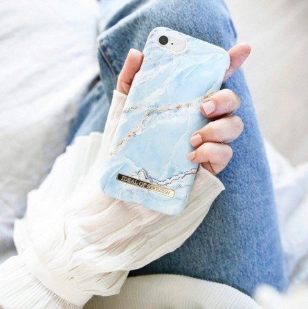 【iDEAL OF SWEDEN】☆iPhoneケース ISLAND PARADISE MARBLE☆