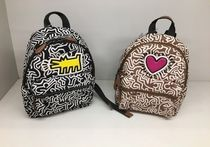 【COACHxKeith Haring】限定☆ナイロン製 MINI CHARLIE BACKPACK