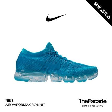 Nike スニーカー 【関税 送料込】NIKE AIR VAPORMAX FLYKNIT AirMax Blue Orbit