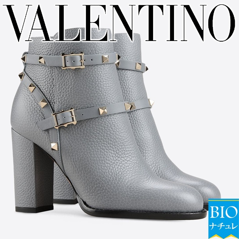 VALENTINO☆Coolなショートブーツ☆ROCKSTUD ANKLE BOOT