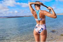 【ROXY】Pop Surf High Neck One Piece Swimsuit/ワンピース水着