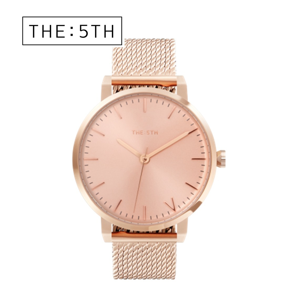 The Fifth  Watches  腕時計 BILBAO ARGYLE ユニセックス ピンク