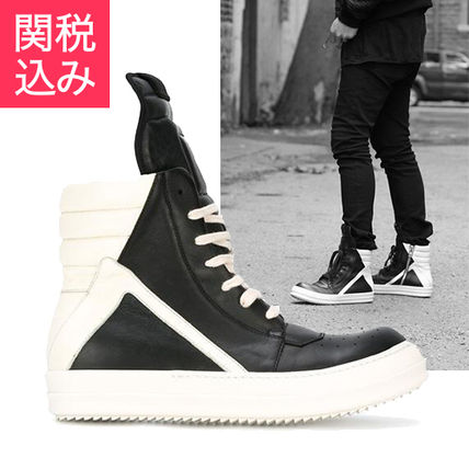 RICK OWENS★17SS GEOBASKET ハイトップスニーカー 関税込み
