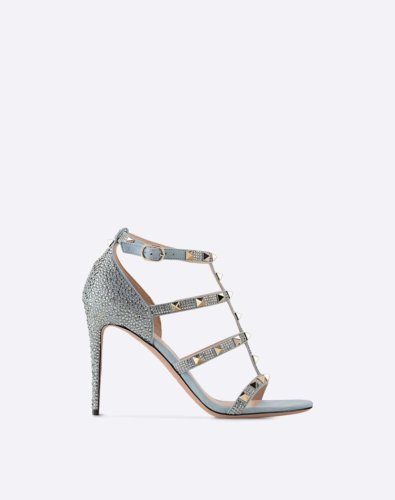 VALENTINO☆絶対欲しい*ROCKSTUD SANDAL WITH CRYSTALS*サンダル