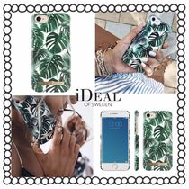関税/送料込み【iDEAL OF SWEDEN】iPhoneケース MONSTERA JUNGLE