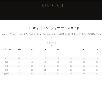 GUCCI Tシャツ・カットソー 【国内発送】GUCCI ロゴTシャツ 白 ココ・キャピタン プリント (4)