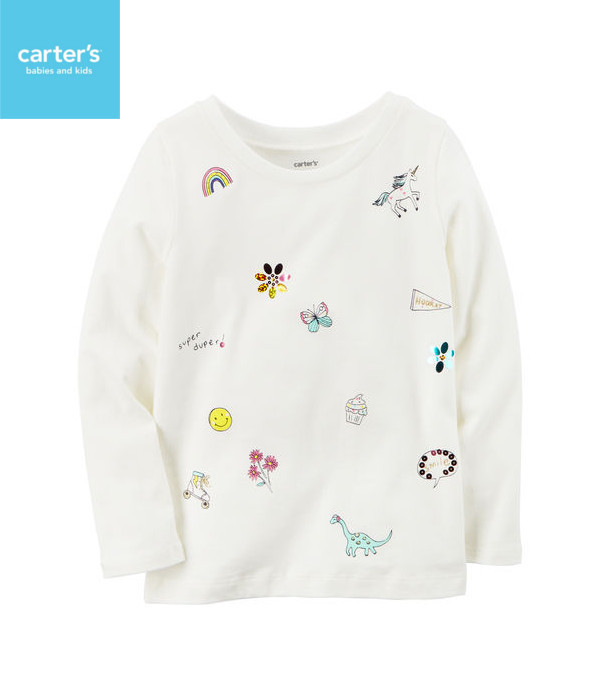 carter's DOODLEグラフィックTシャツ